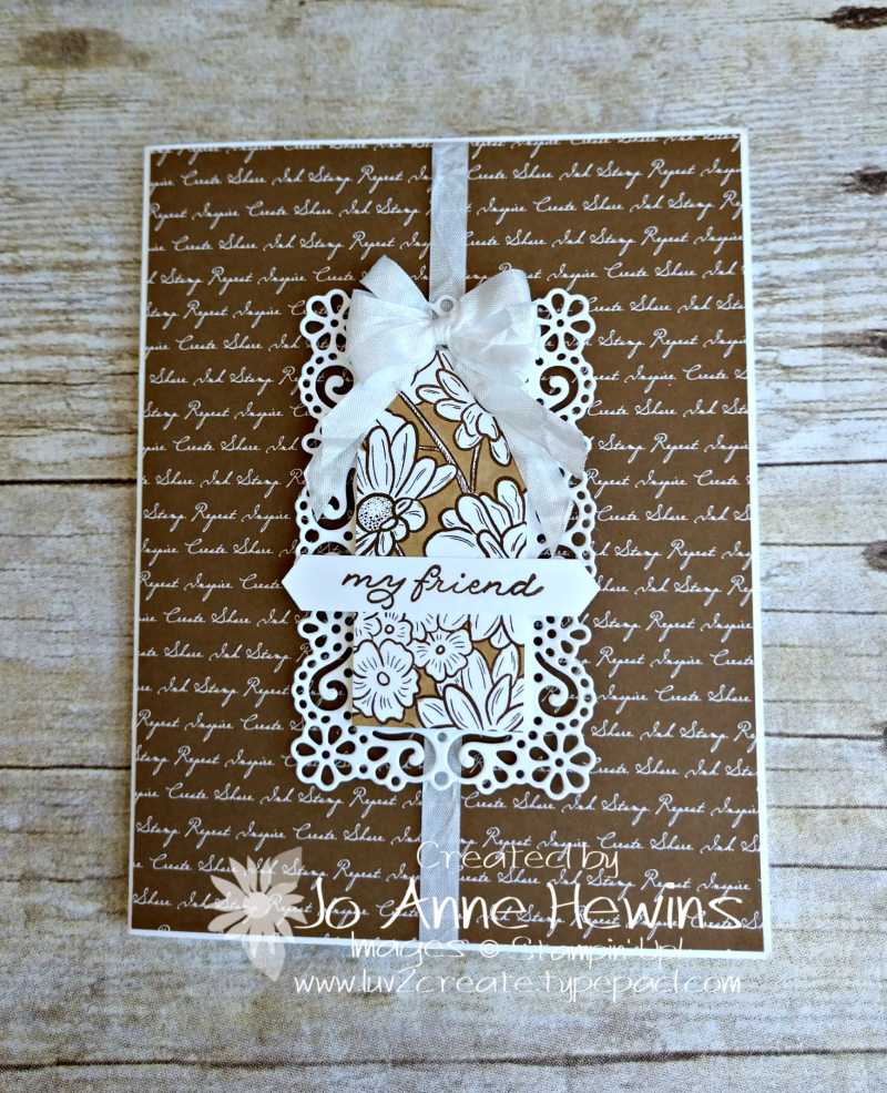 Ornate Style Neutral Script by Jo Anne Hewins