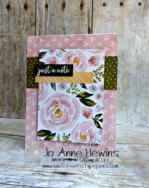 CCMC #610 Best Dressed DSP Card by Jo Anne Hewins