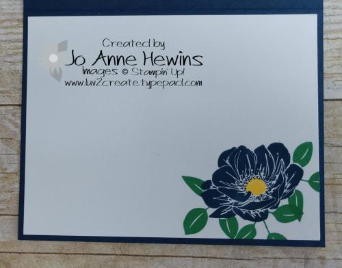 Floral Essence Inside by Jo Anne Hewins