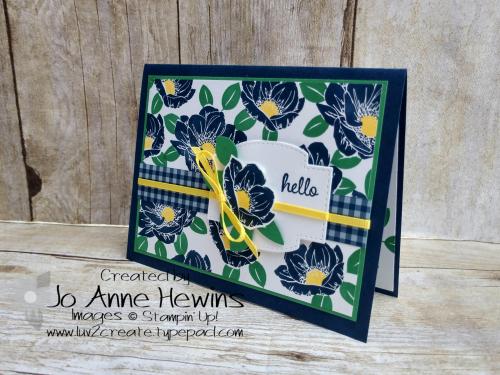 Floral Essence Card by Jo Anne Hewins