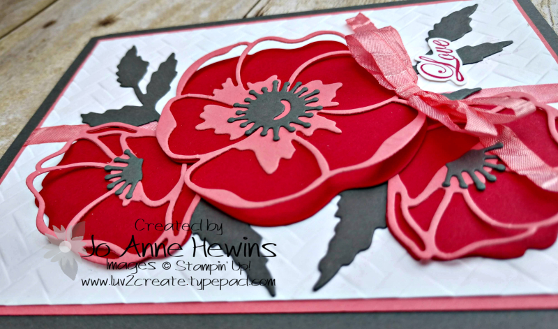 CCMC#599 Poppy Moments Layers by Jo Anne Hewins