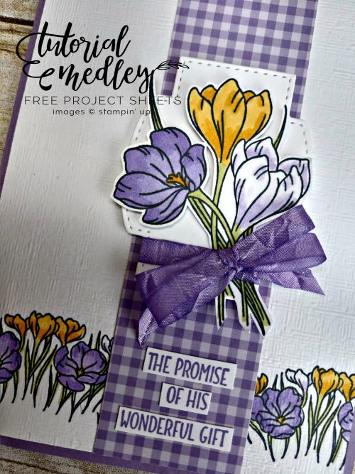 Easter Promise February Medley Tutorial Close Up
