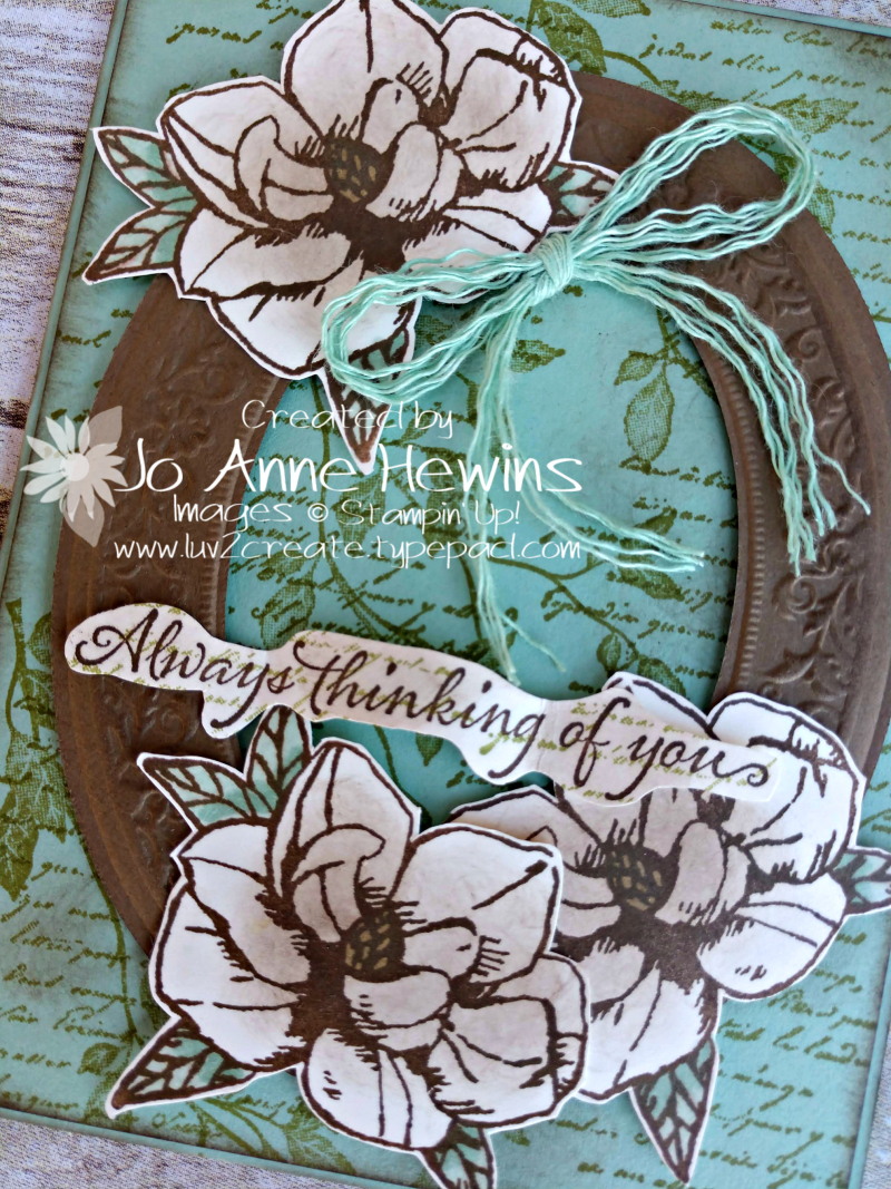 Color Fusers for March Magnolia Close Up by Jo Anne Hewins
