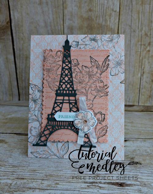 Forever Blossoms Tutorial Medley Card