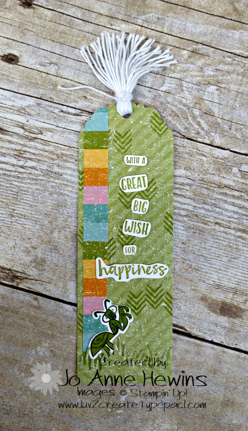 OSAT March Bookmark by Jo Anne Hewins