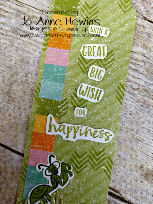 OSAT March Bookmark close up by Jo Anne Hewins