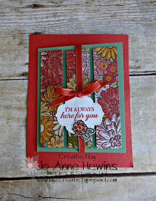 Class Ornate Garden 1 by Jo Anne Hewins