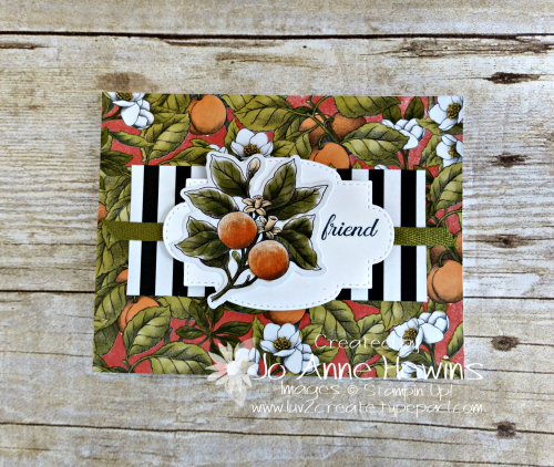 Botanical Prints Product Medley Tutorial by Jo Anne Hewins