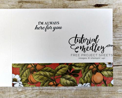 Botanical Prints Product Medley Tutorial Medley Inside