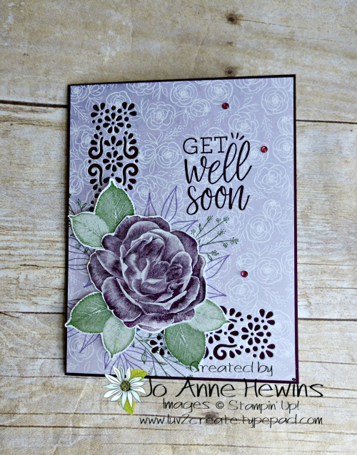 Healing Hugs Card by Jo Anne Hewins