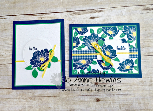 Floral Essence Card Duo by Jo Anne Hewins