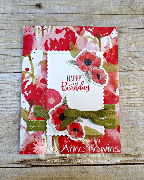 CCMC #602 Poppy by Jo Anne Hewins