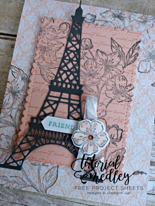Forever Blossoms Tutorial Medley Close Up
