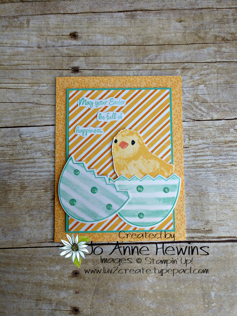 CCMC #605 Full of Happiness by Jo Anne Hewins