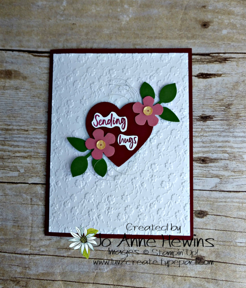 Heart Punch Pack and More by Jo Anne Hewins