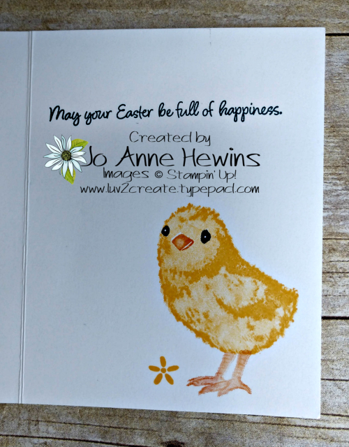 Full of Happiness Inside by Jo Anne Hewins