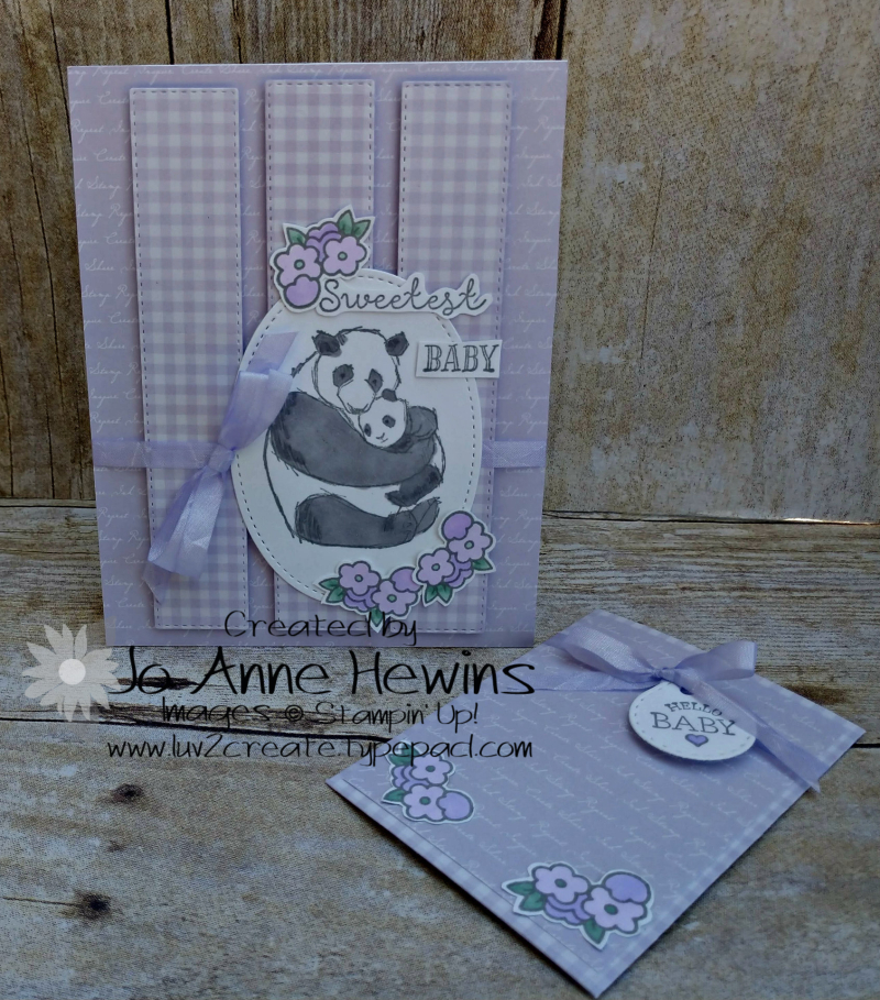 OSAT Baby Milestone Wildly Happy Gift Card Holder and Card by Jo Anne Hewins