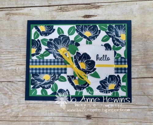 Floral Essence by Jo Anne Hewins