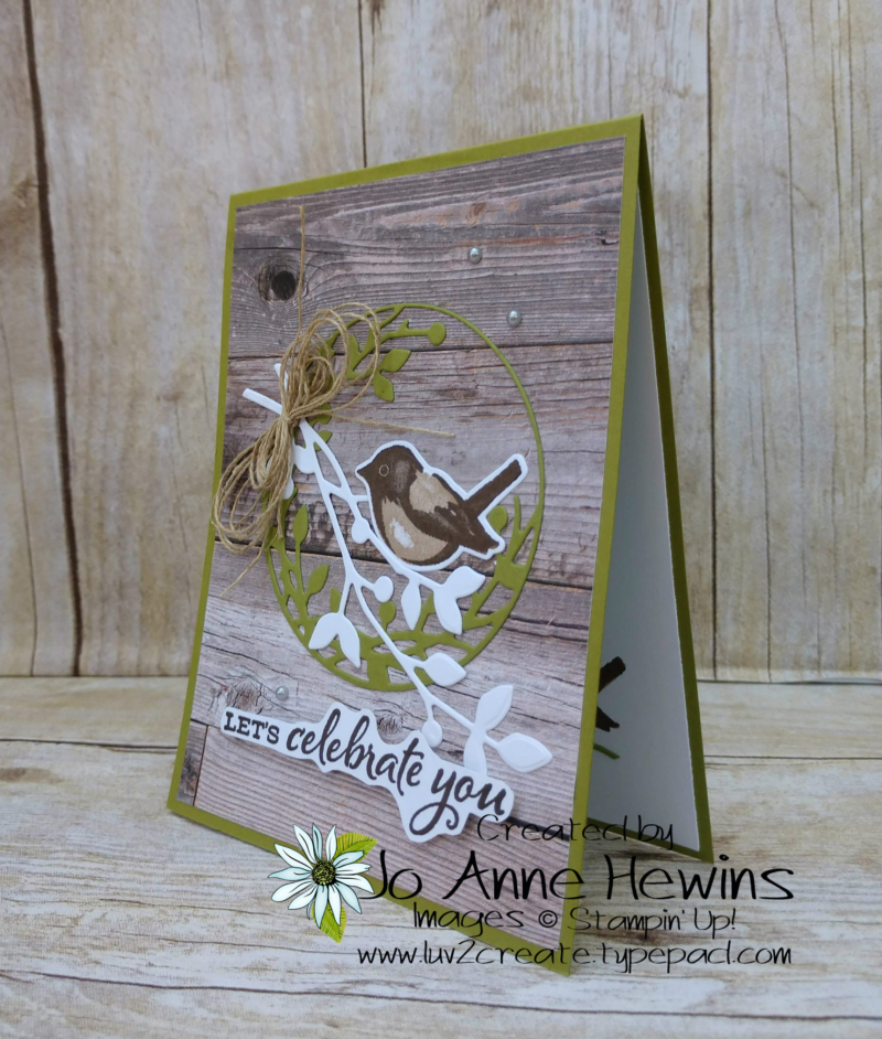 Birds and Branches Project by Jo Anne Hewins