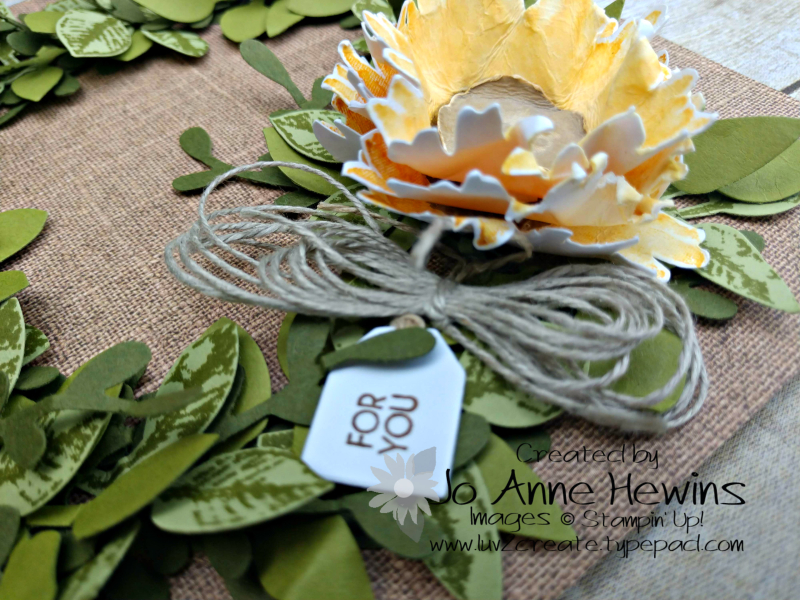 NC Blog Hop Painted Harvest Side View of Flower by Jo Anne Hewins