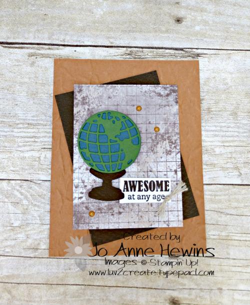 Beautiful World June Class by Jo Anne Hewins