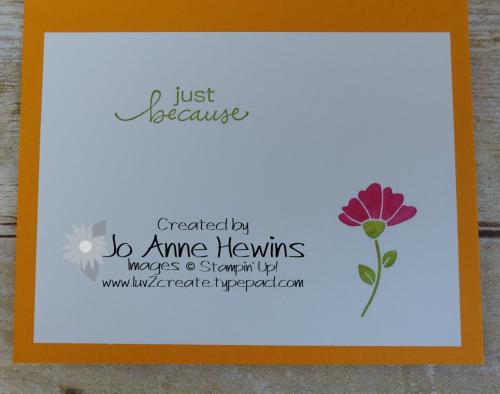 CCMC #617 Lovely You Inside by Jo Anne Hewins