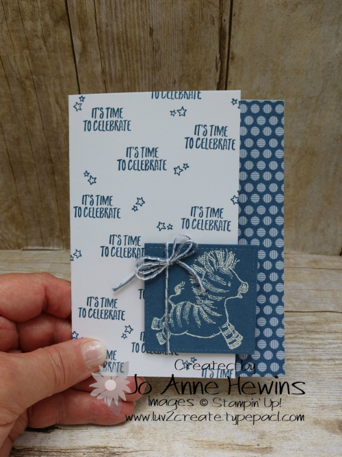 Zany Zebras White Emboss Project by Jo Anne Hewins