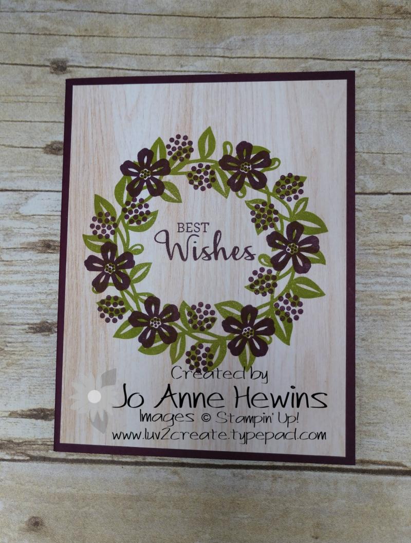 Arrange a Wreath Beginner Project by Jo Anne Hewins