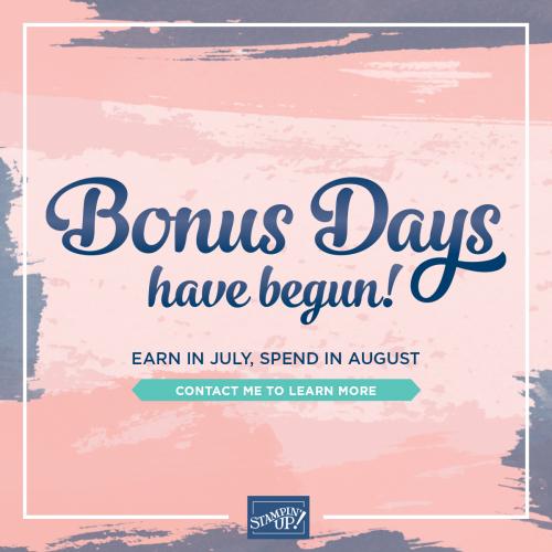 Bonus Days 2