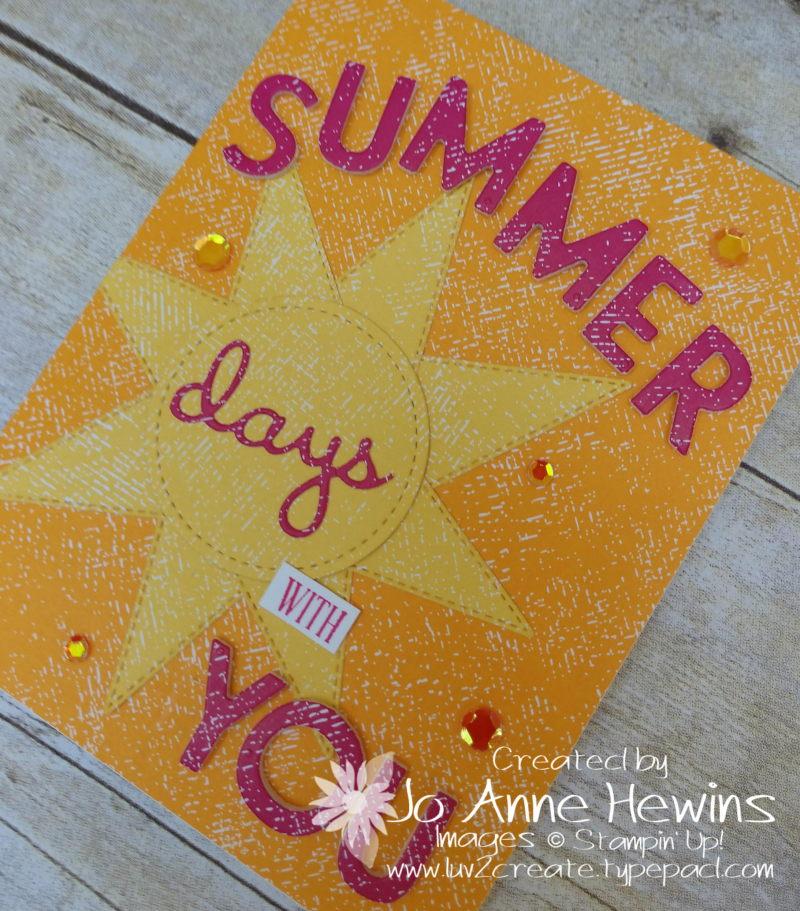 NC Demo Blog Hop for July Summer Playful Alphabet by Jo Anne Hewins