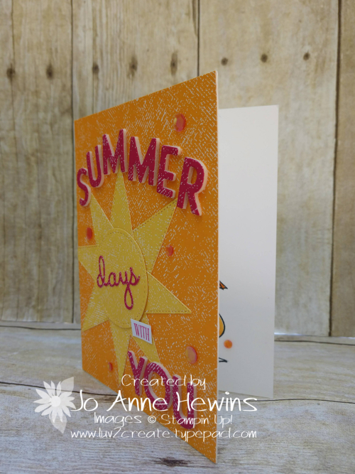 NC Demo Blog Hop for July Summer Project by Jo Anne Hewins