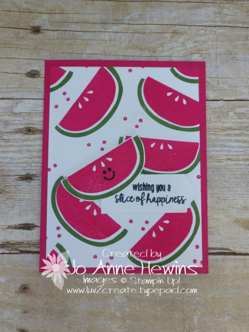 Cute Fruit by Jo Anne Hewins