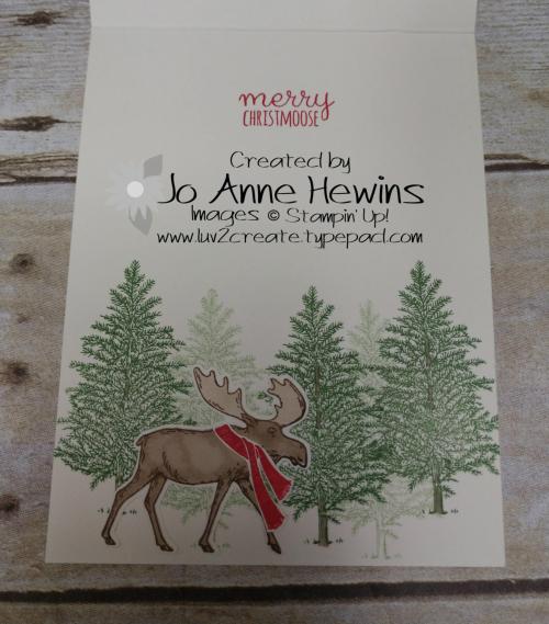 CCMC #625 Merry Moose Inside of Card by Jo Anne Hewins