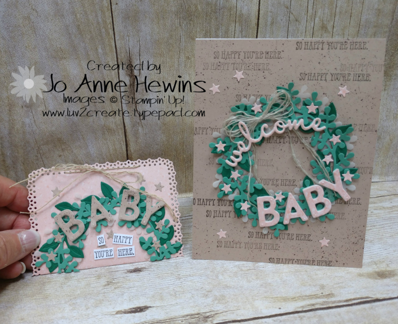 OSAT August new Beginnings Card and Gift Card Holder by Jo Anne Hewins