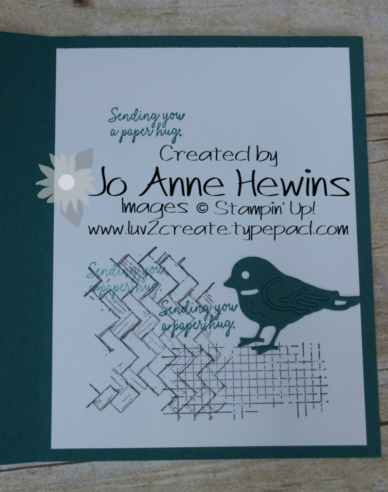Comfort and Hope Inside by Jo Anne Hewins