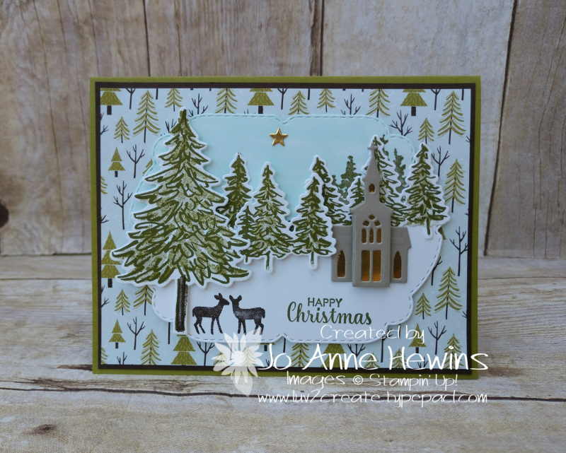NC Demo Blog Hop for August Scenery Card by Jo Anne Hewins