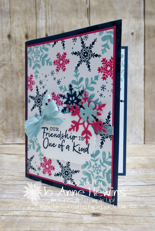 Snowflake Wishes Project by Jo Anne Hewins