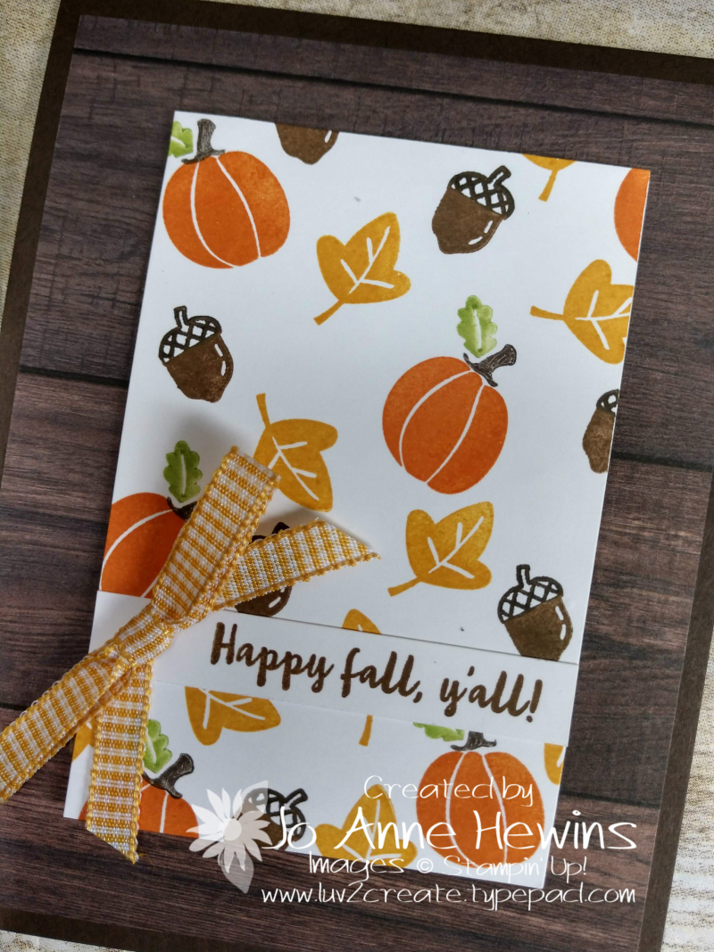 Banner Year Fall Close Up by Jo Anne Hewins