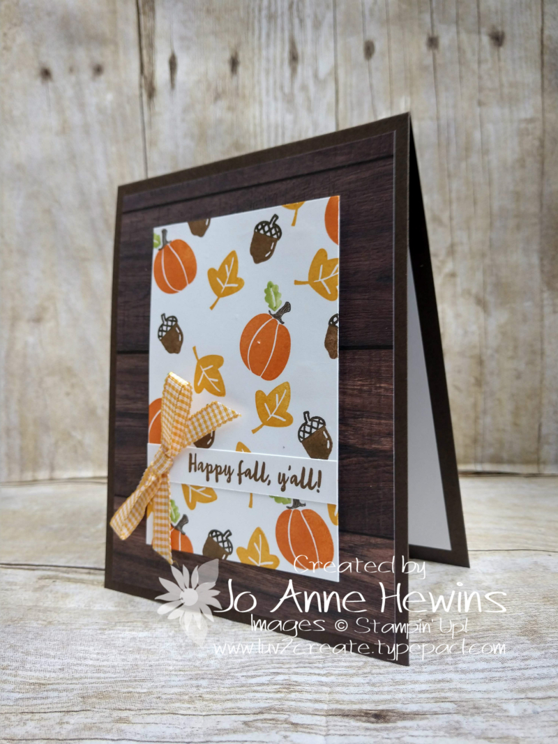 Banner Year Fall by Jo Anne Hewins