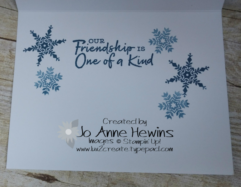CCMC#631 Snowflake Wishes Bundle Inside by Jo Anne Hewins