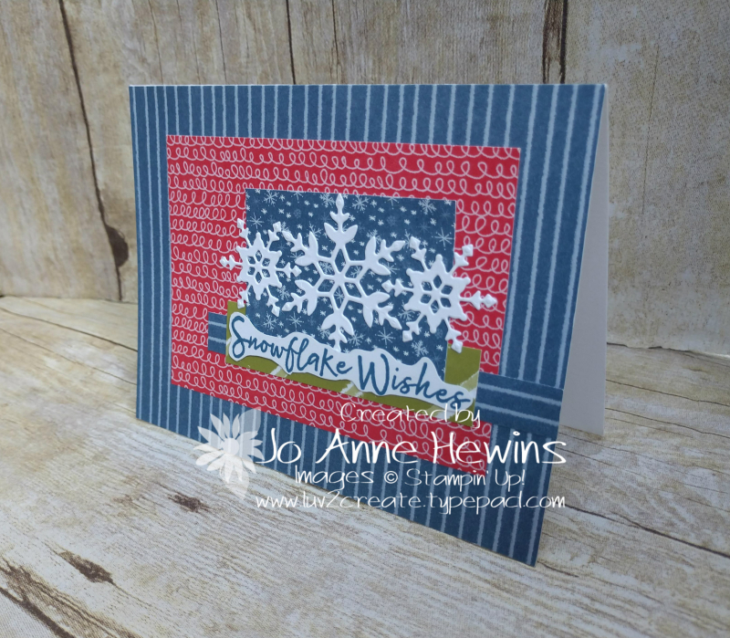 CCMC #631 Snowflake Wishes Bundle Project by Jo Anne Hewins