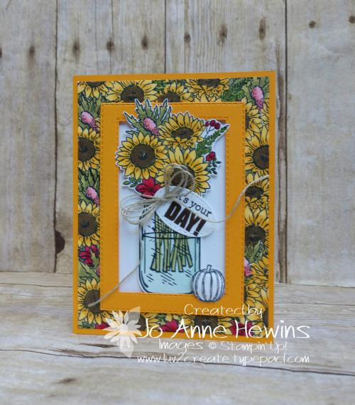 Jar of Flowers for Jessie by Jo Anne Hewins