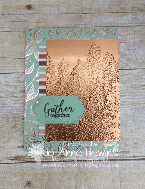 CCMC #635 Gilded Autumn by Jo Anne Hewins