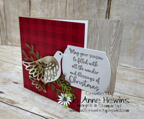 Dove of Hope Card by Jo Anne Hewins
