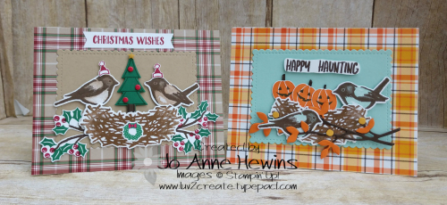 NC Demo Blog Hop Birds & Branches Holiday Duo by Jo Anne Hewins