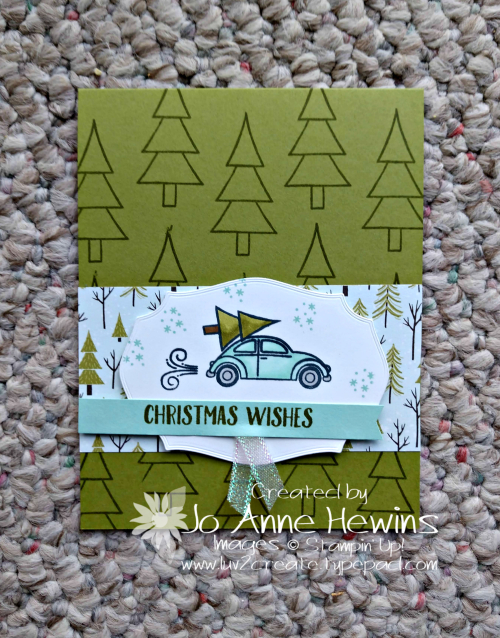 Coming Home Bundle Card by Jo Anne Hewins