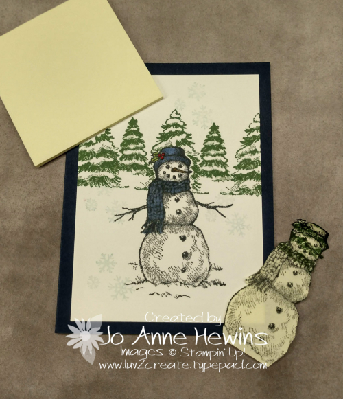 Masking with Snow Wonder by Jo Anne Hewins