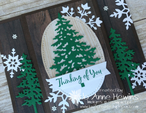 In the Pines Tutorial by Jo Anne Hewins