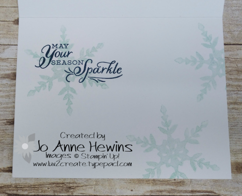 Snowflake Wishes bundle Inside by Jo Anne Hewins