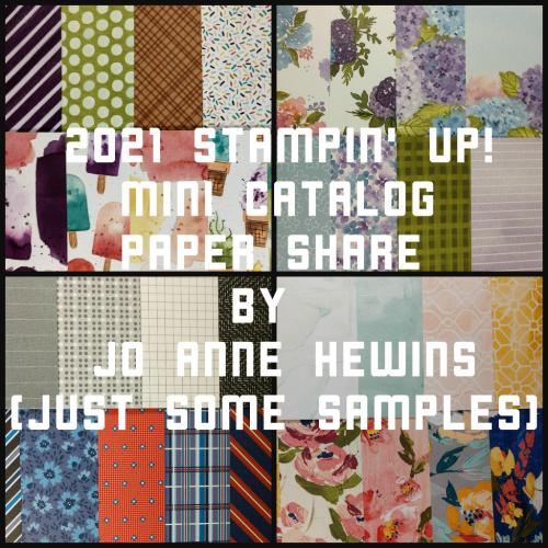 2021 Jan-June Mini Catalog Paper Share by Jo Anne Hewins